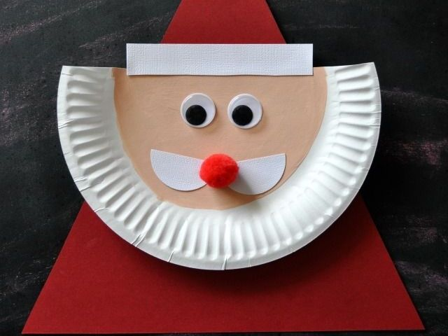 Nice Cute Christmas Craft Ideas Part - 13: 45 Beautiful Examples Of Acrylic Painting. Christmas Crafts For KidsSanta  ...