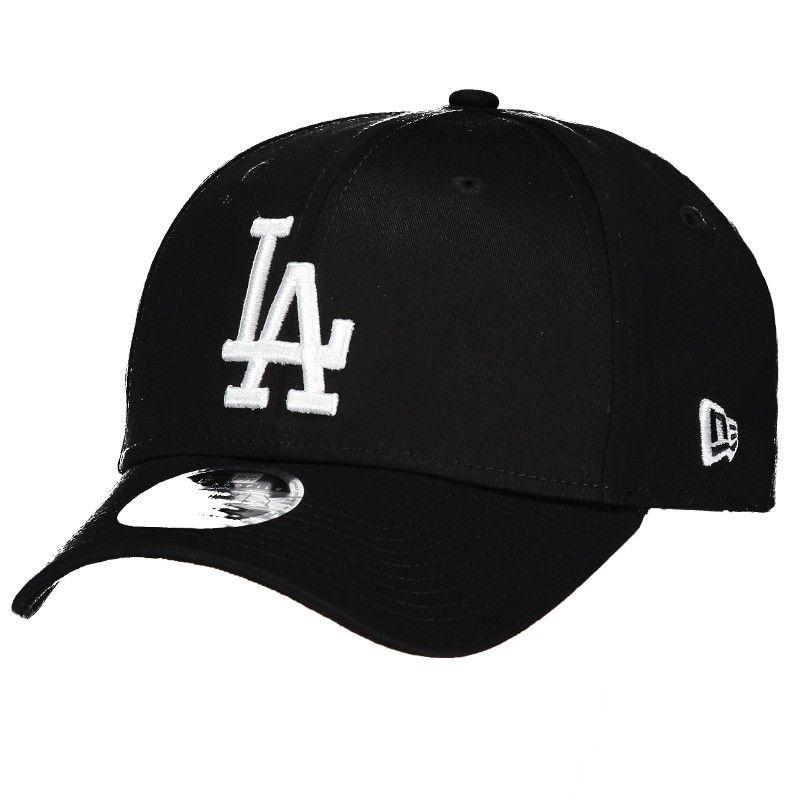 c23349f4245cb Boné New Era MLB Los Angeles Dodgers 3930 Preto e Branco Somente na  FutFanatics você compra