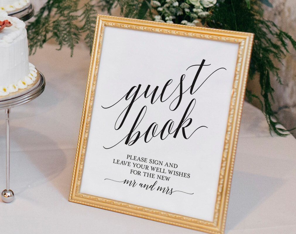 Guest Book Sign, Guest Book Wedding, Guest Book Ideas, Wedding ...