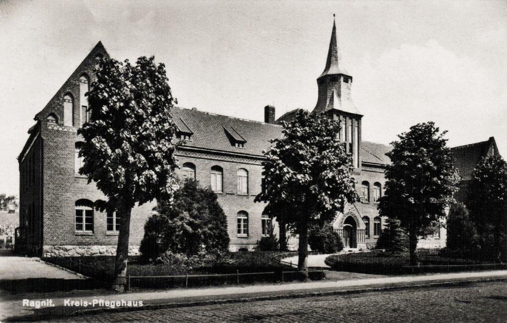 171 Ragnit Pflegehaus Old Photos Prussia