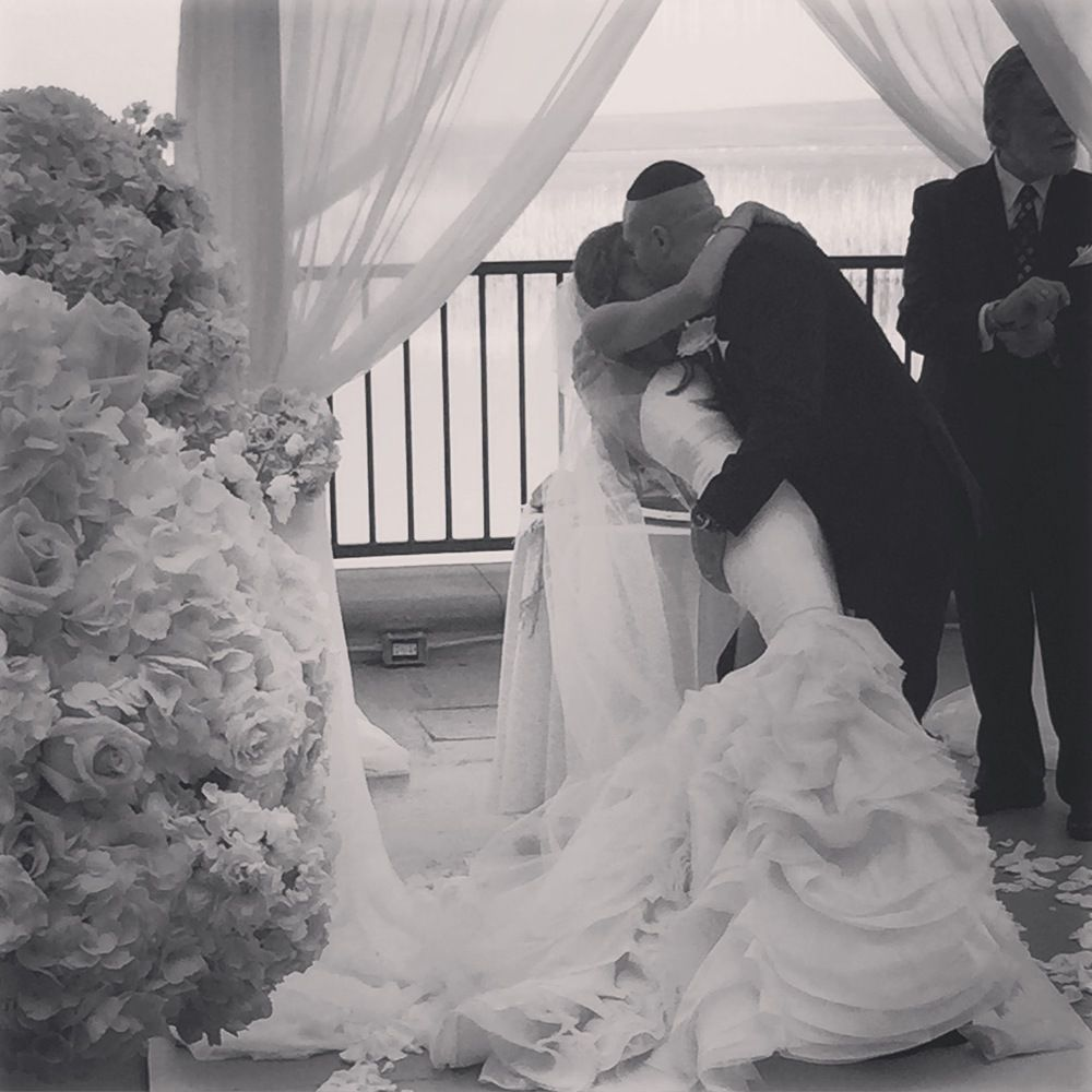 Behind The Scenes At Stephanie & Justin's Wedding At The