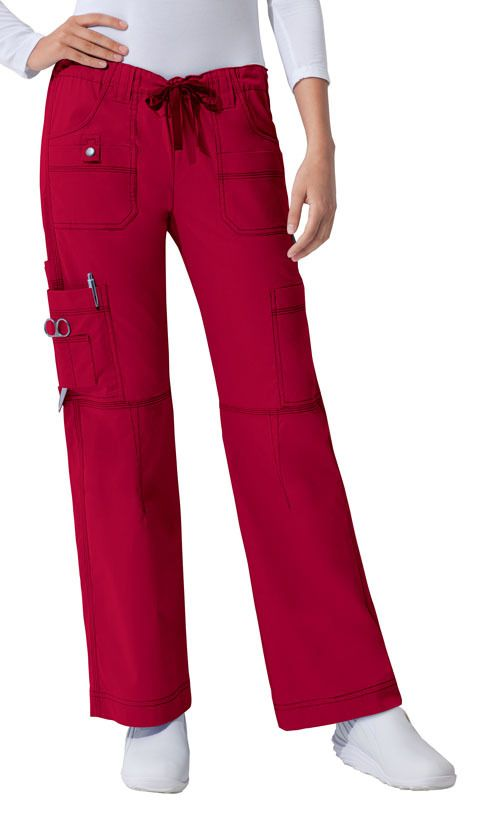 Dickies Medical 857455 Pantalon Cargo 9 Bolsas Pantalones De Medicos Pantalones Mujer Camisa De Moda