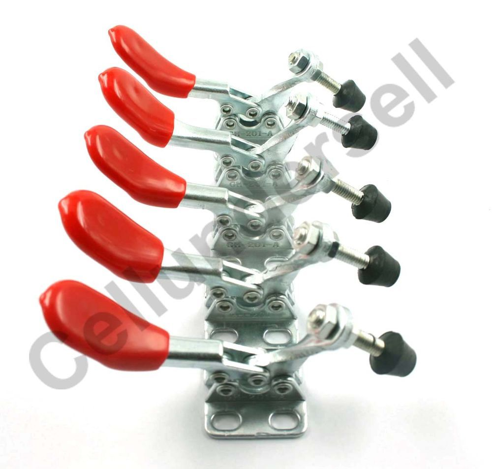 5 pcs New Hand Tool Toggle Clamp 201A Horizontal Clamp 60lbs 201-A SD-201-A