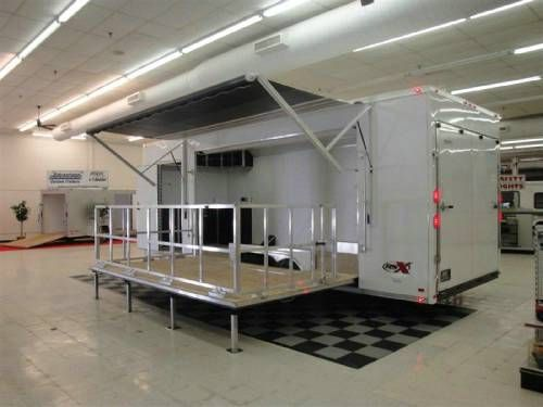Portable stage trailers for bands, fairs, and event