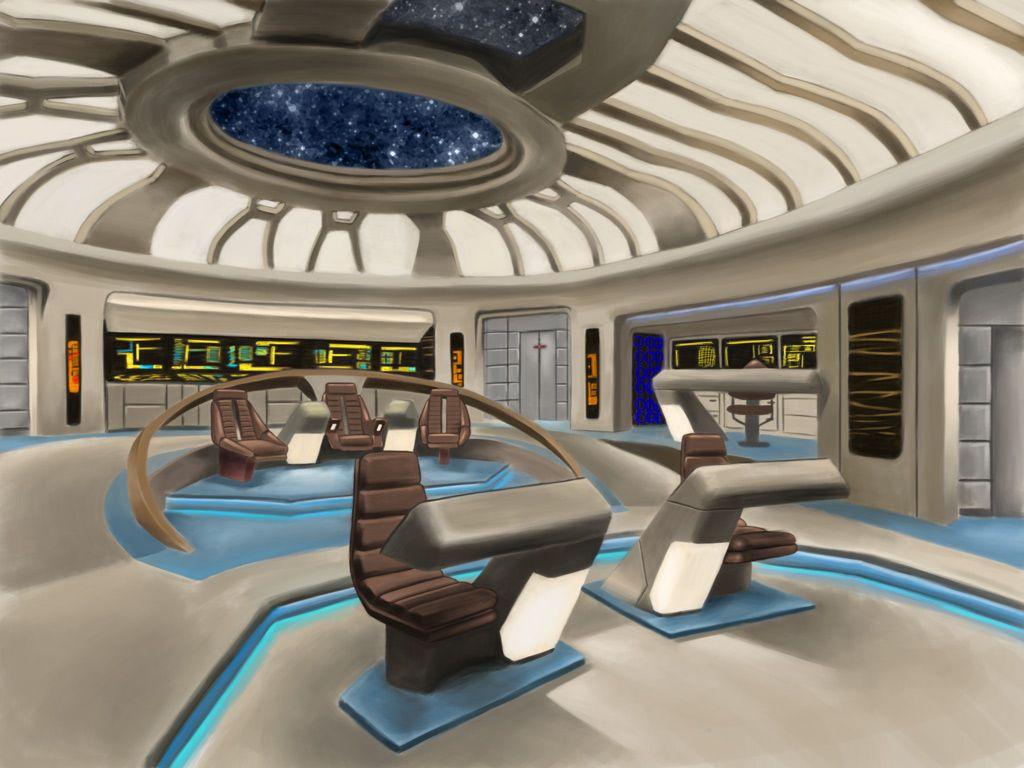 Cgtalk Startrek Starship Bridge Spaceship Interior Star Trek Star Trek Bridge