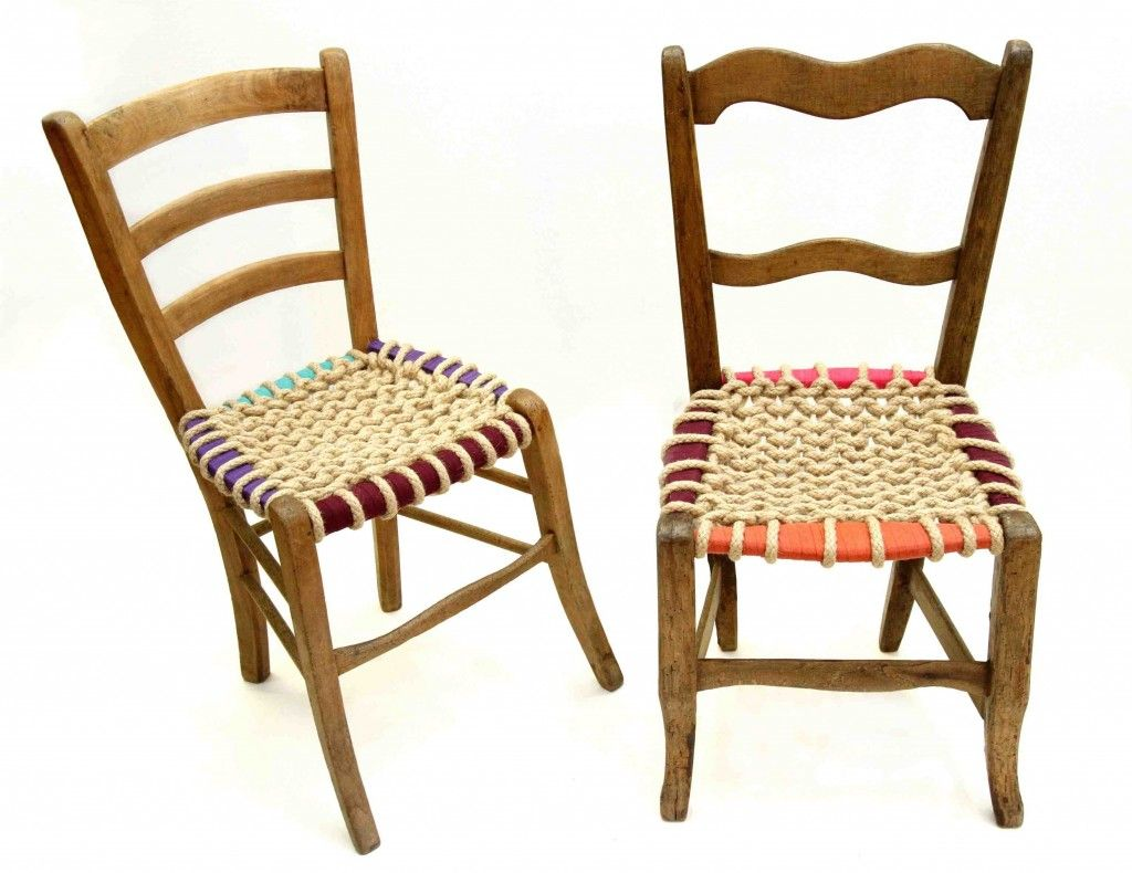 Idee Recup Des Chaises Anciennes Relookees Chaise