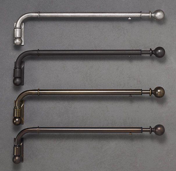 Charming Restoration Hardware   Dakota Swing Arm Rods