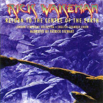 "Rick Wakeman: ""Return to the Centre of the Earth"". 1999 Studio Album, EMI Classics, Cover Art by Roger Dean."