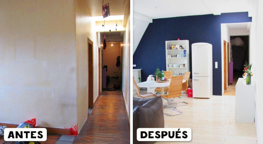 20 Habitaciones antes y después de haber sido decoradas por un ...