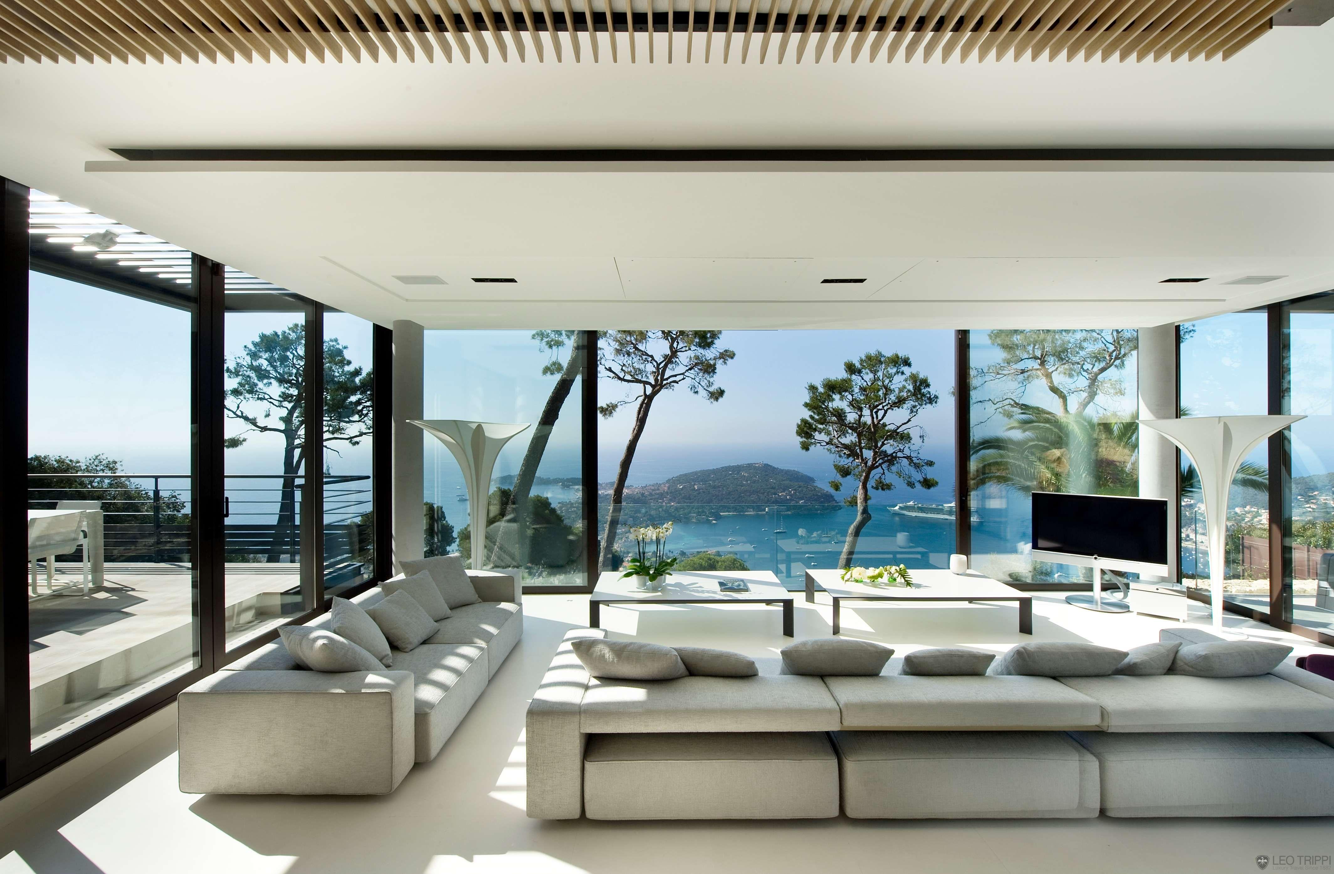 Villa Baie, Côte d\'Azur | Villas, Living rooms and Room