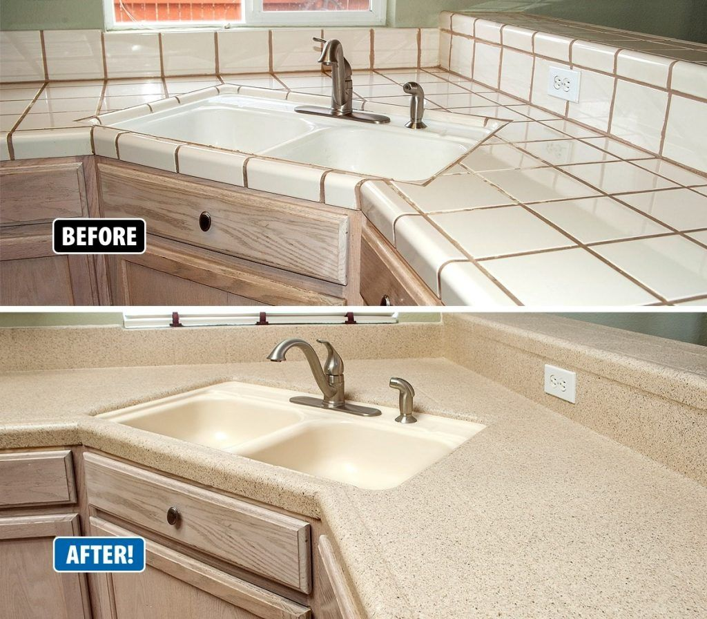 Countertop Refinishing Revitalizes Outdated Kitchens Refinish