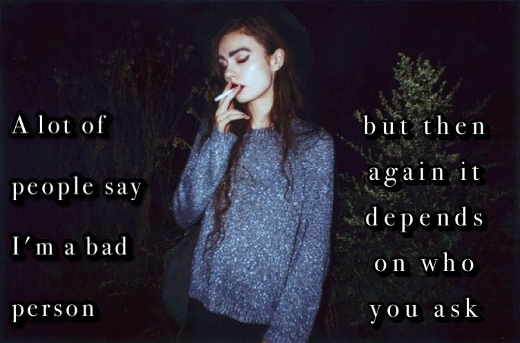Hey I'm Hayley and I post a lot of my shit quotes and shit edits.