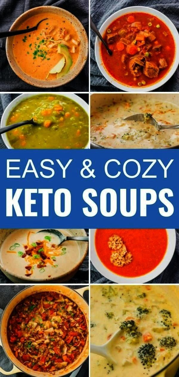 for cozy and comforting soups, perfect for your low carb life. From stovetop to pressure cooking, t