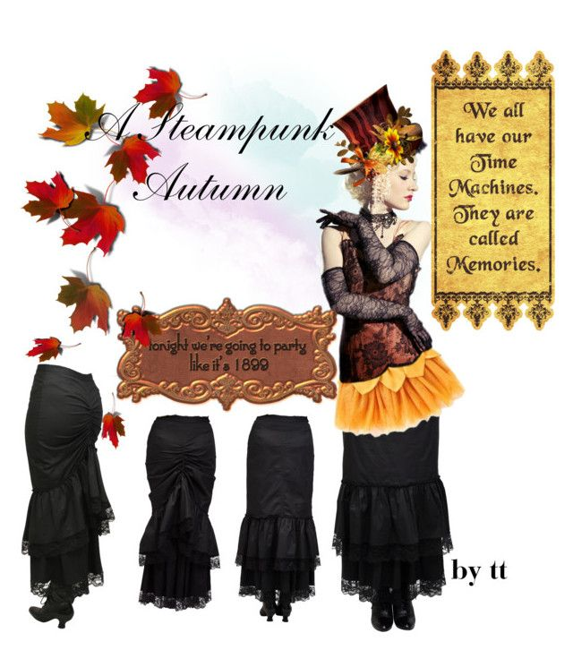 """""""A Steampunk Autumn...by tt"""" by fowlerteetee on Polyvore featuring art"""