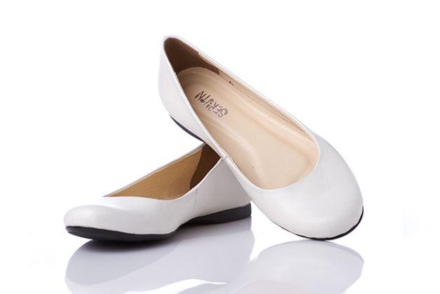 D473 Eleganckie Baleriny Skora Mleczne Biale 36 41 Skora24 Buty Heels Shoes Pumps