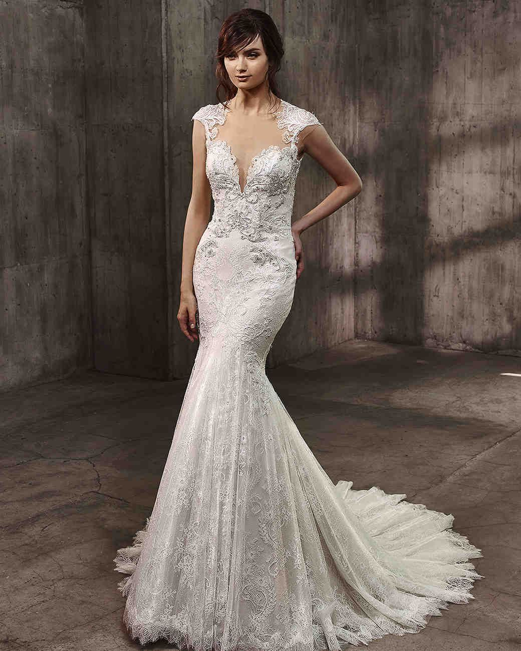 Badgley Mischka Fall 2017 Wedding Dress Collection