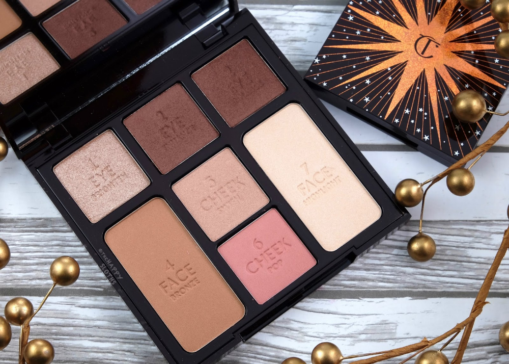 Charlotte Tilbury Holiday 2019 Celestial Eyes Luxury Palette Of Pops Gorgeous Glowing Beauty Instant Look In A Palette Magic Dreams Skincare Kit Review A Skin Care Kit Beauty Charlotte Tilbury