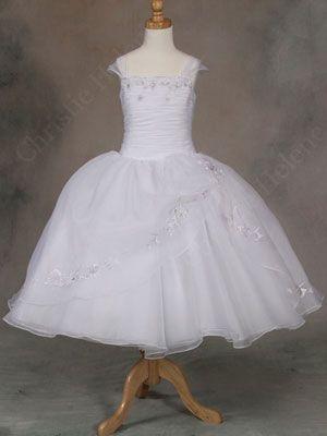 Christie Helene Communion Dress  Photographer: Michelle Fichera - @Danielle Giannola Candela