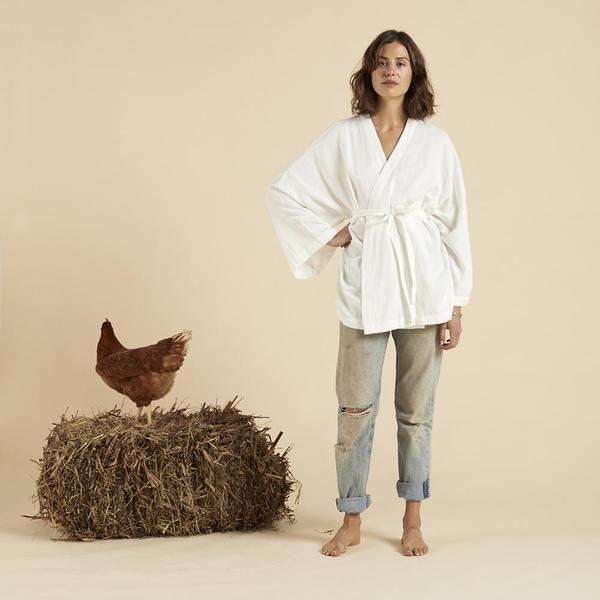 Organic Cotton Kaya Wrap - Camellia – Olli Ella UK