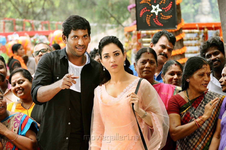 vishal, tamanna in kathi sandai movie stills | tamanna | pinterest