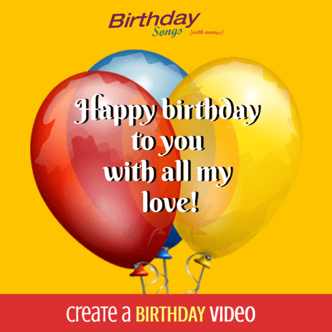 Create your first birthday video today in three simple