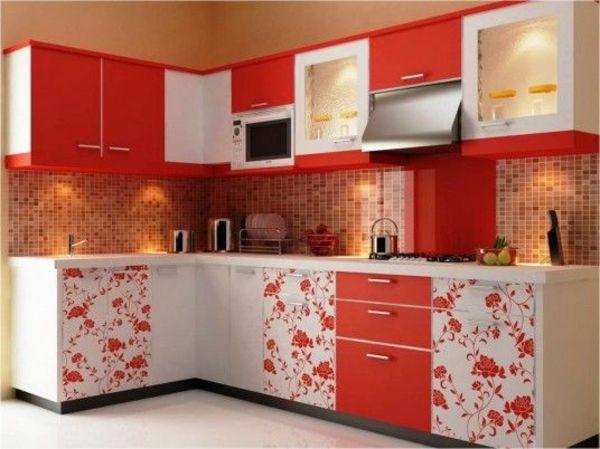 Wandfliesen für die Küche tolle Küchenausstattung Ideen