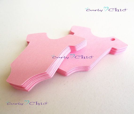 100 Baby Onesie Tags Size 2 In Nontextured or by CurlynChic, $4.40
