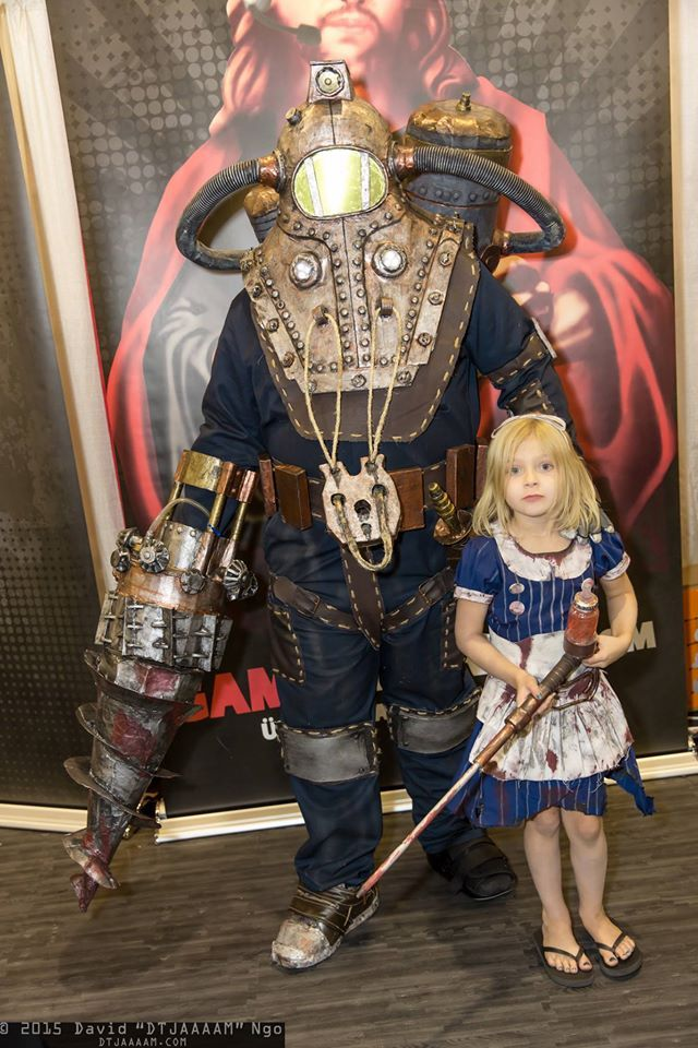 Big sister bioshock cosplay