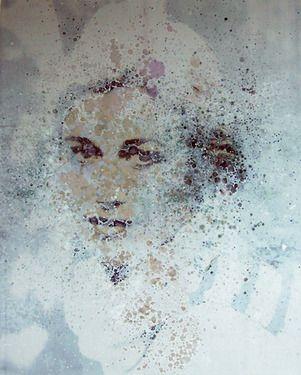 """Saatchi Online Artist Lizzy Stewart; Painting, """"Unknown Reflection"""" #art"""