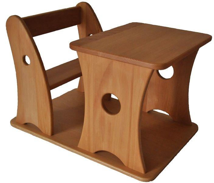 Petit Banc Loczy Pour Enfant D Apres Emmi Pikler Table Et Chaise Enfant Table Et Chaises Design Chambre Enfant