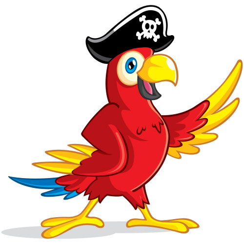 Free Png Downloads Konfest Pirate Parrot Pirate Clip Art Free Clip Art