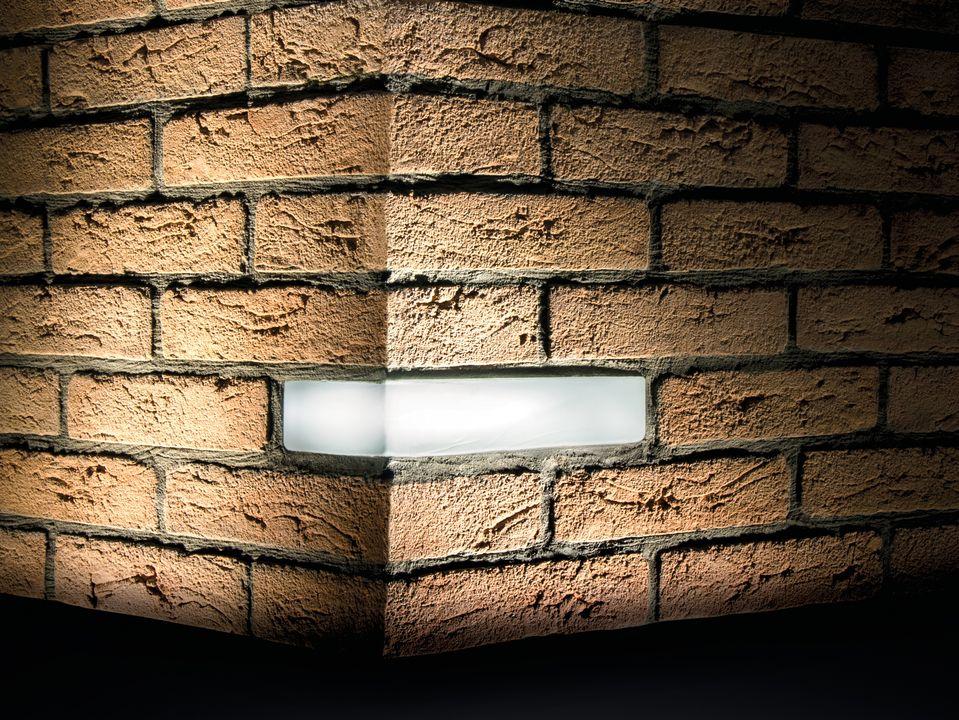 Brick Wall Recessed Lights Light Brick Recessed Lighting