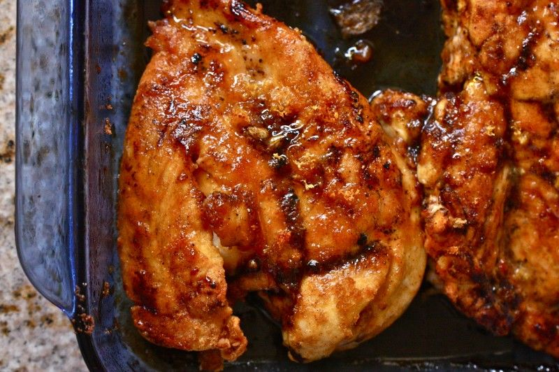 30 Minute Lemon Brown Sugar Chicken-One of our new favorites, moist, delicious and so full of flavor!