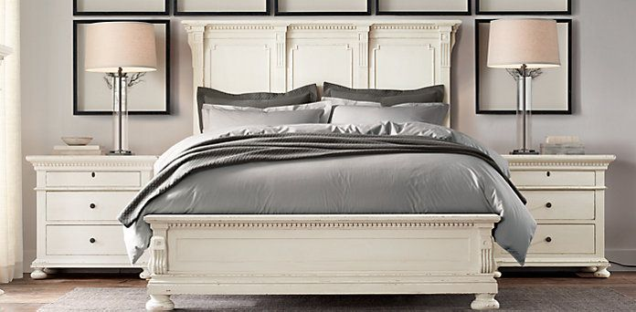 White Distressed Bedroom Furniture Glamorous Antique White Milk Paint And A Satin High Performance Top Coat Are Decorating Inspiration