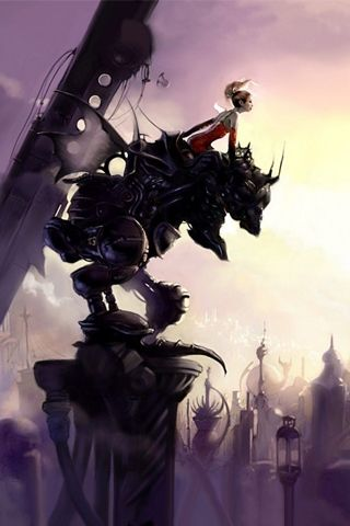 Final Fantasy Artwork Iphone Wallpaper Hd You Can Download This
