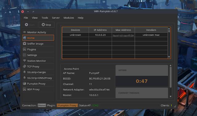 WiFi-Pumpkin v0 8 7 - Framework for Rogue Wi-Fi Access Point