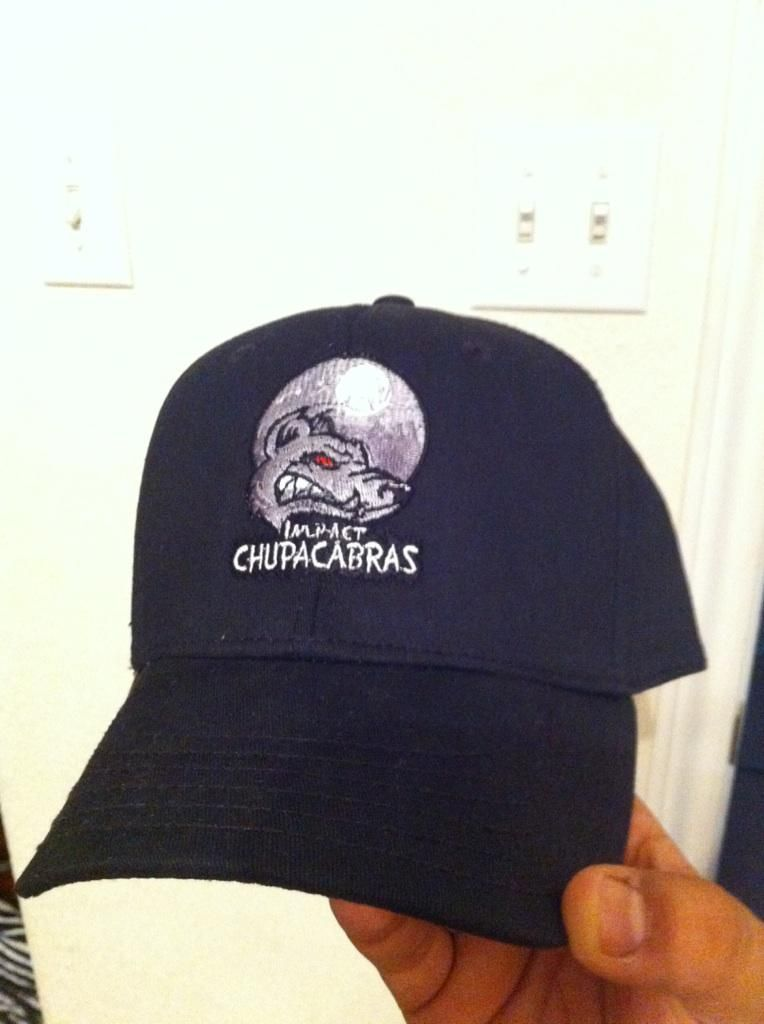 Hat we made for the impact chupacabras abilene fantasy