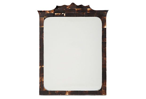 Waterbury Horn Wall Mirror, Espresso on OneKingsLane.com | mirrors ...