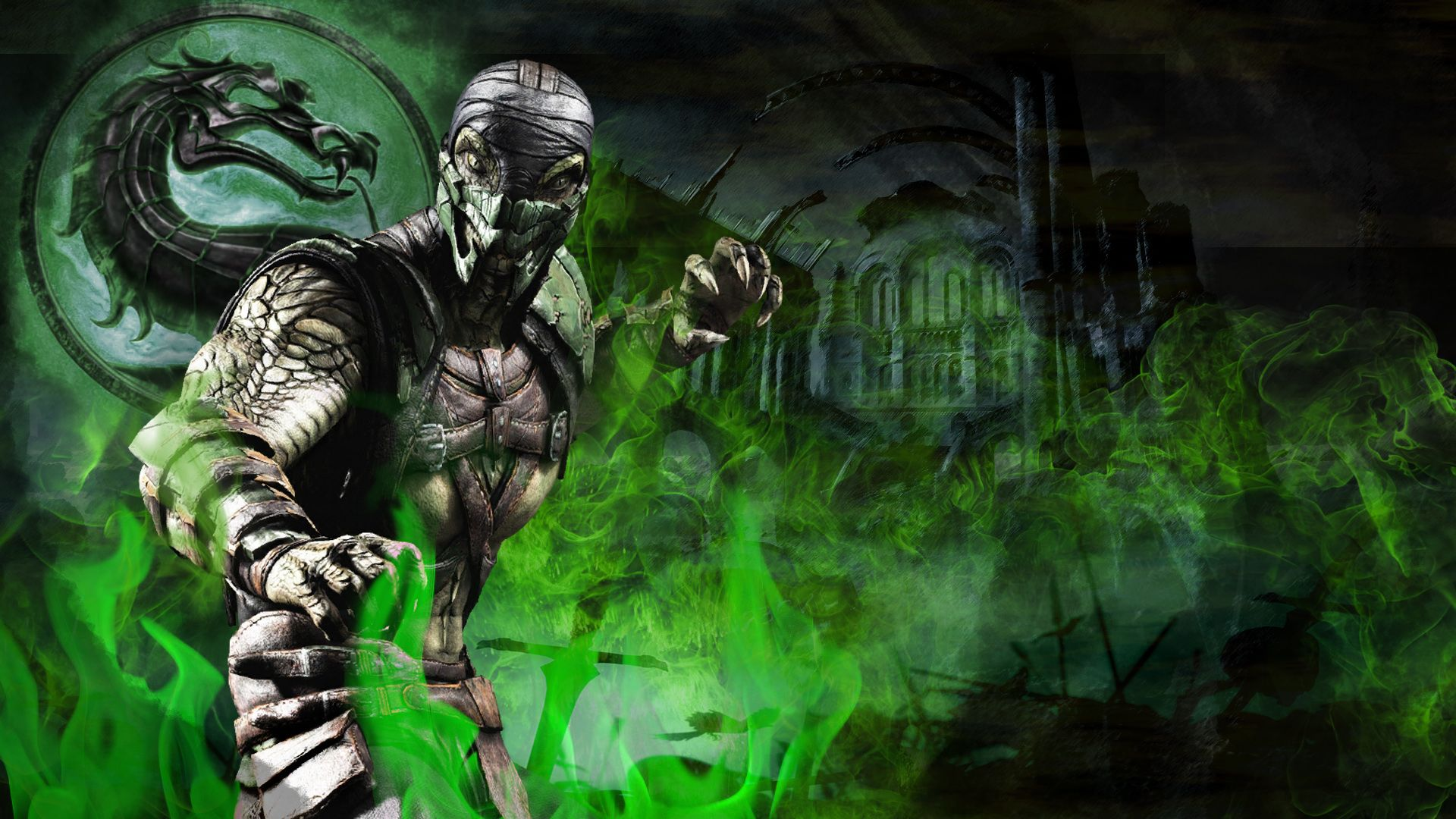 image for free mortal kombat reptile video game hd wallpaper