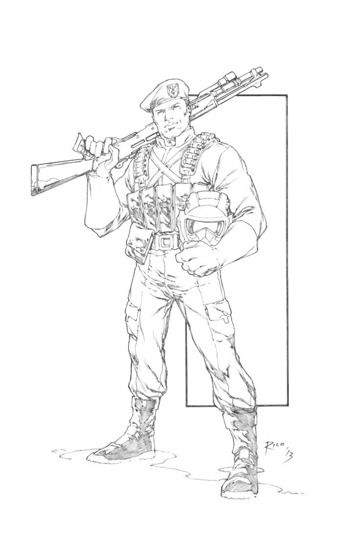 Pin On Lineart Gi Joe