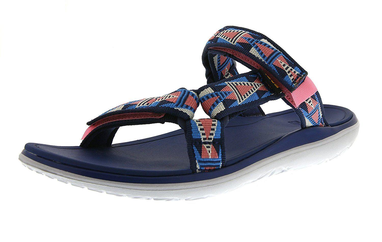 Teva Women's Terra-Float Lexi Slide Sandal ** Trust me, this is great!  Click the image. : Teva sandals | Teva sandals, Sport sandals, Sandals