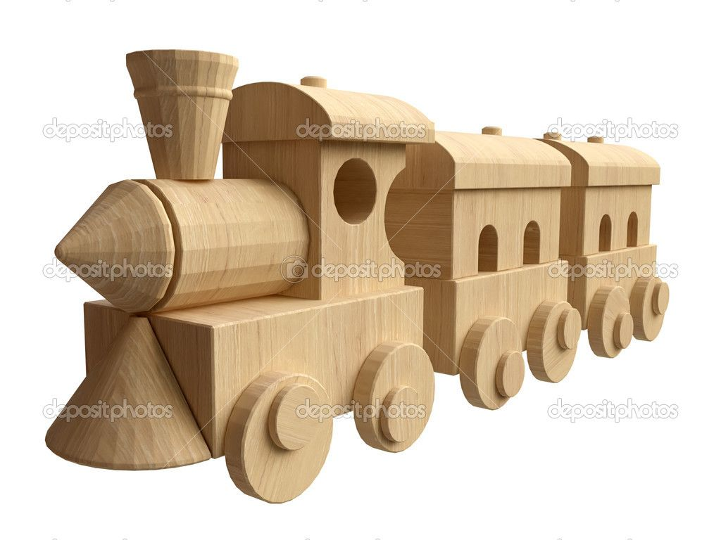 Wooden Trains Toys 54