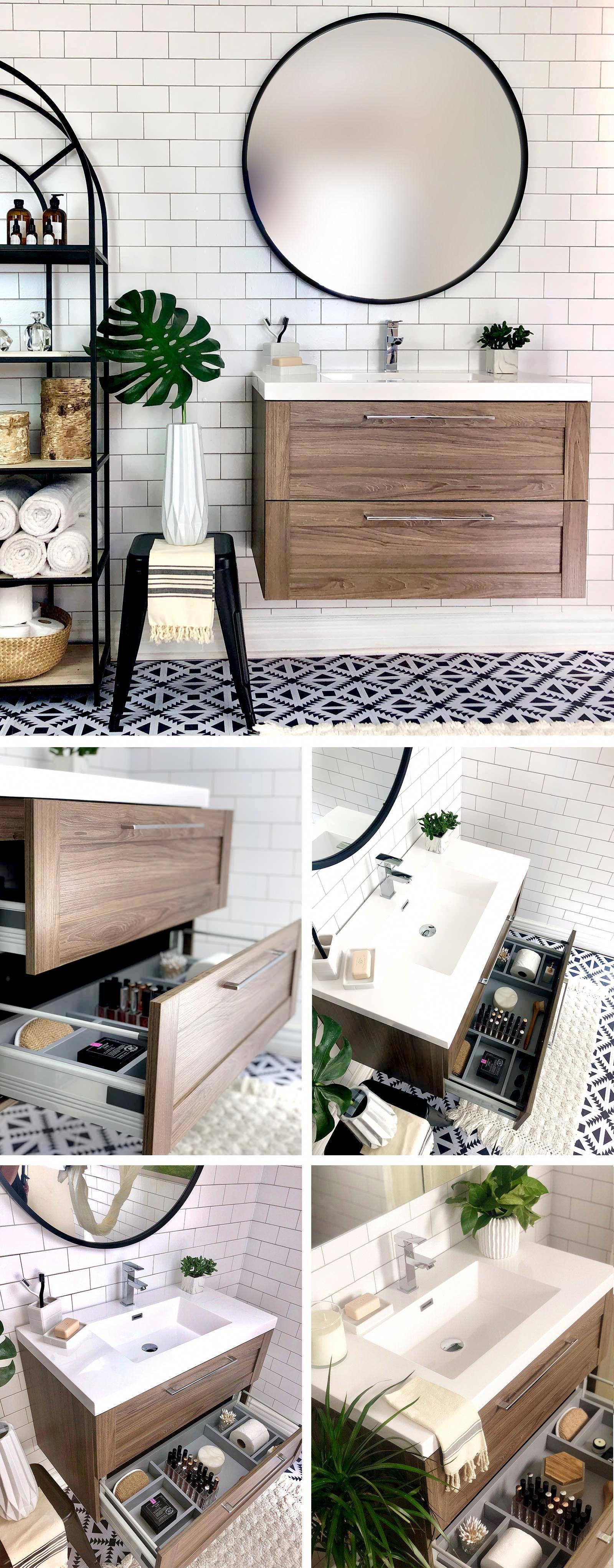 Modern bathroom vanity by flairwood decor bathroomideas