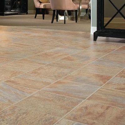 Bruce Flooring Gardenstone 12 X 48 X 8mm Tile Laminate In Monzone Oak Laminate Flooring Oak Laminate Flooring
