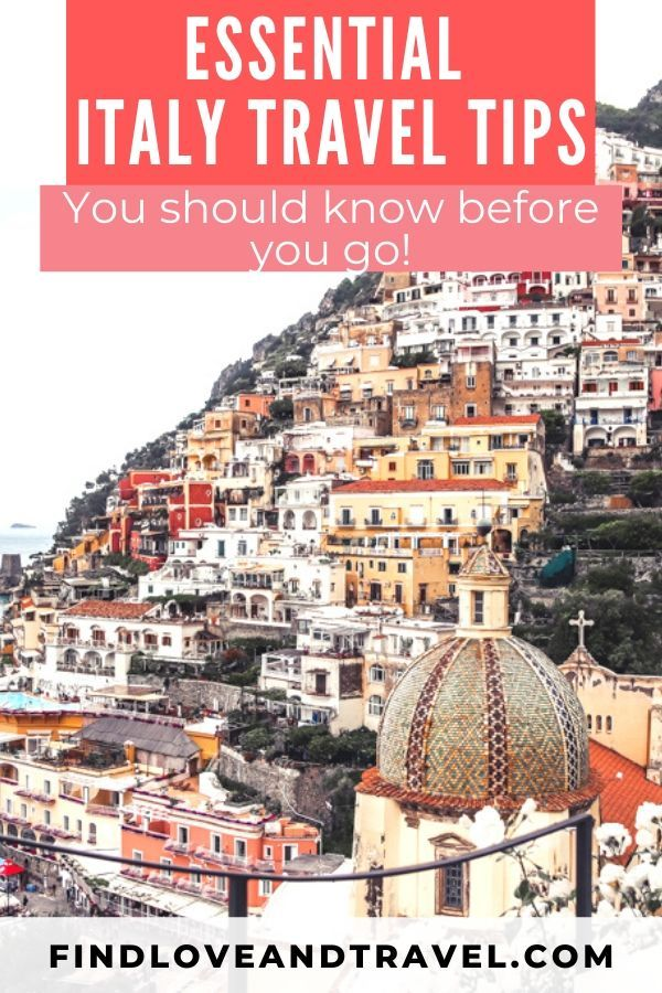 Photo of Essential Things to Know Before Traveling to Italy – Find Love & Travel