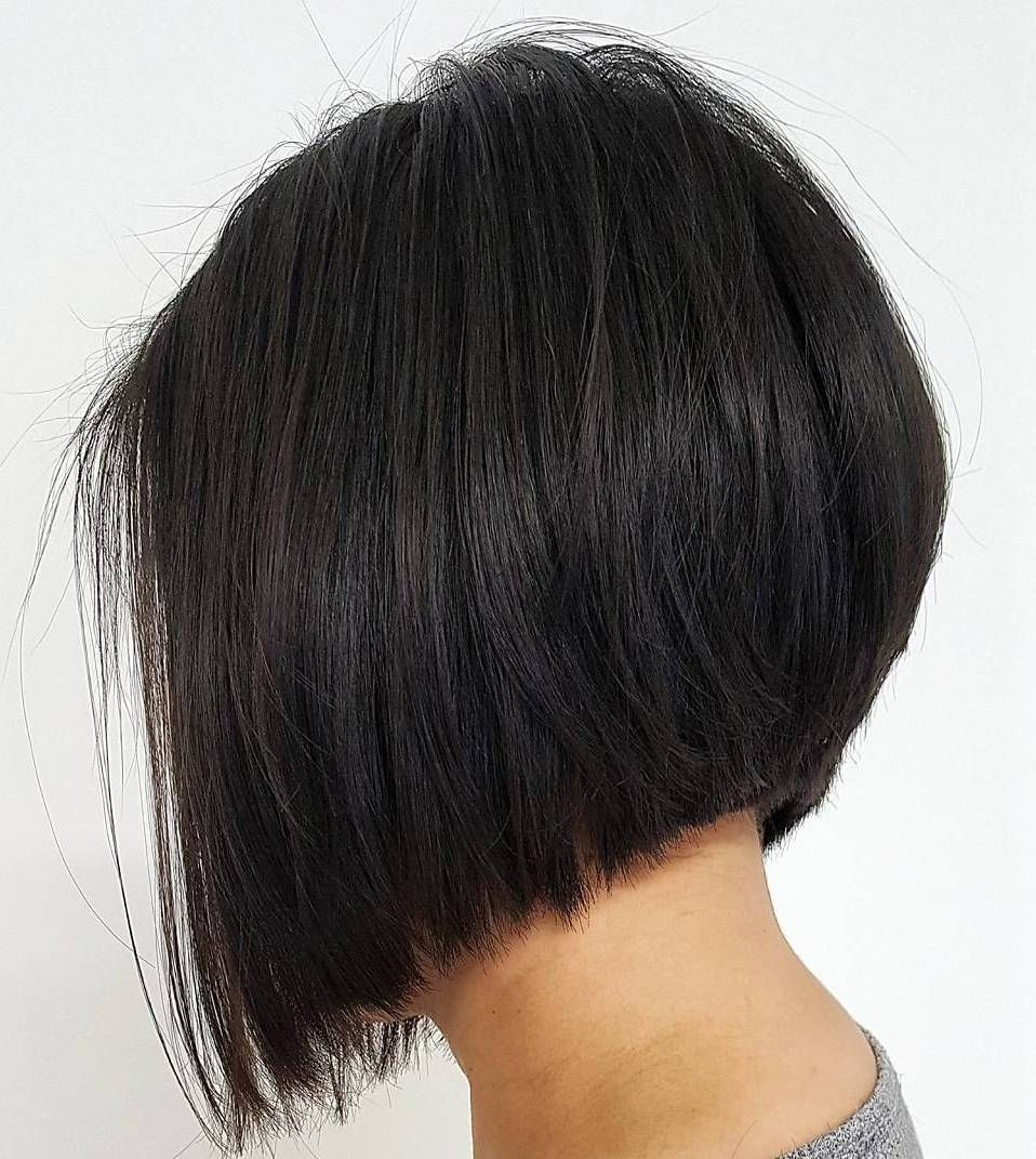 Accurate black inverted bob short hairstyles pinterest hair