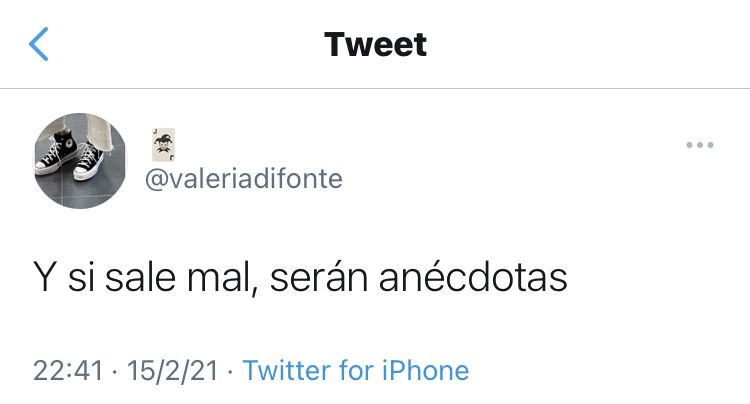 @valeriadifonte on Twitter 🃏