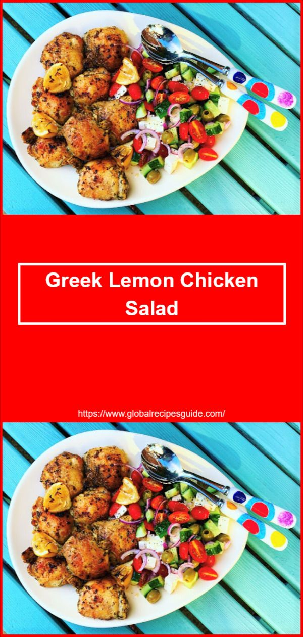 Greek Lemon Chicken Salad – World Cuisine Recipes ERROR 404 – World Cuisine Reci…