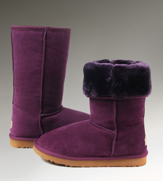 UGG Tall Classic 5815 Purple Boots