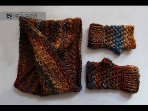 Tutorial CUELLO INFINITO MOEBIUS SIN COSTURA a Ganchillo / Crochet ...
